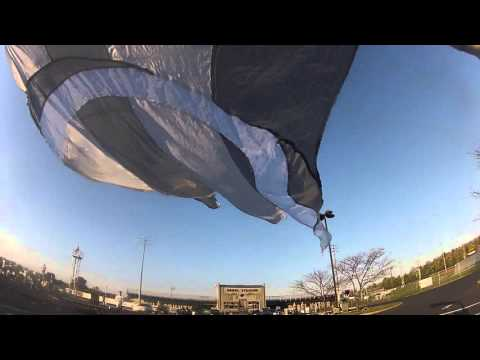 Boyle County Marching Band Guard Cam 2015