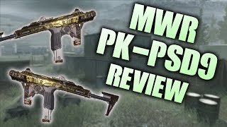 NEW: pk-psd9 Review 💥🔥 Modern Warfare Remastered UPDATE - MWR New Sub Machine gun Gameplay