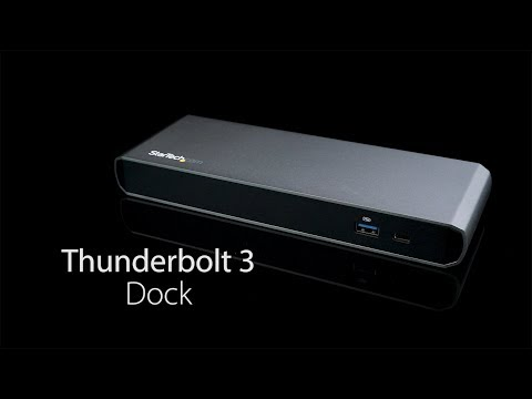 Thunderbolt 3 Dock - Dual 4K, Power Delivery | Laptop