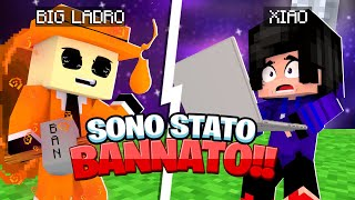 SONO STATO BANNATO DALLA BIG VANILLA DURANTE IL QUARTO EVENTO DEL BIG LADRO!! -Minecraft BIG VANILLA