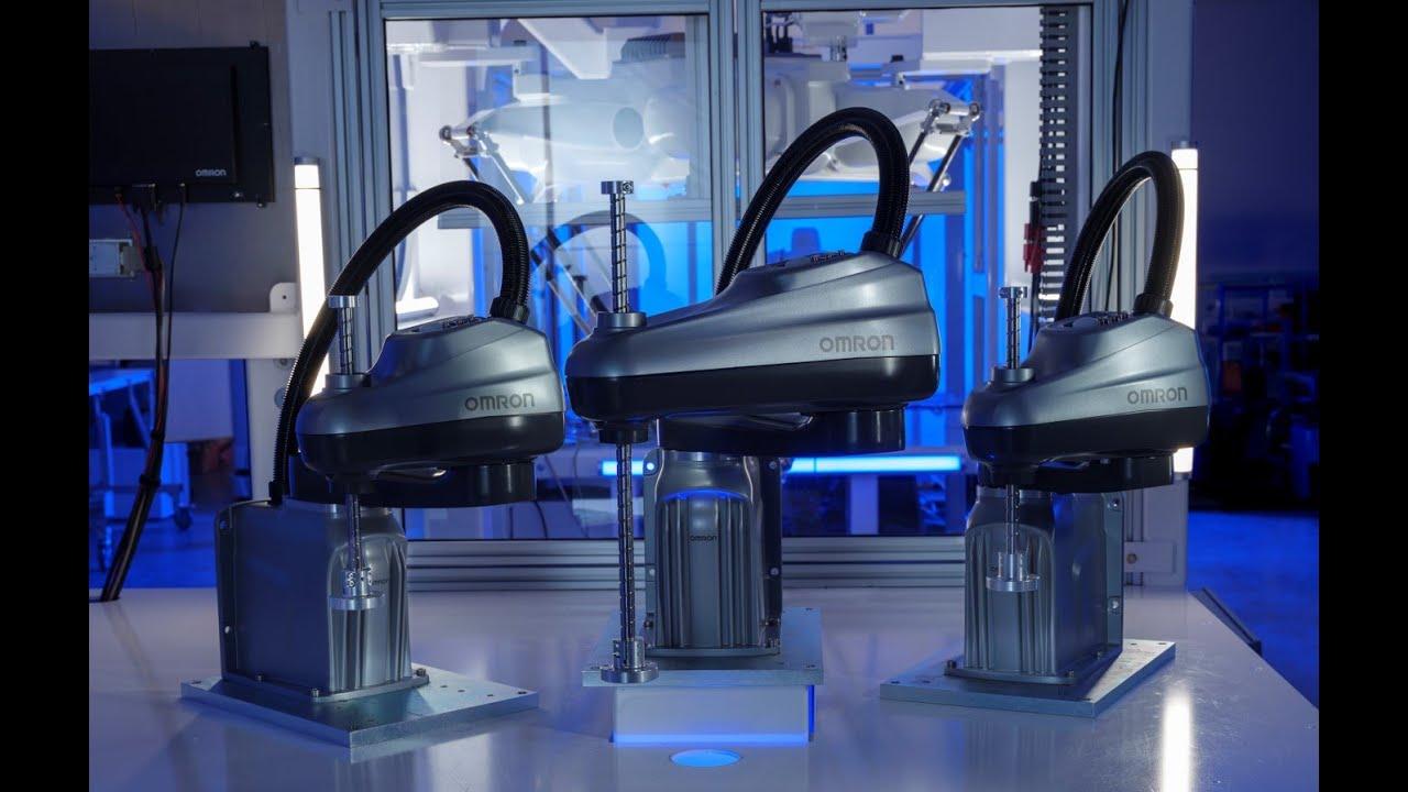 OMRON'S  i4L SCARA Robot Series