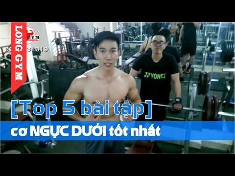 """[Top 5 bài tập] cơ NGỰC DƯỚI dưới tốt nhất """"LÀM SAO ĐỂ ĐẨY NGỰC DƯỚI 110kg"""""""