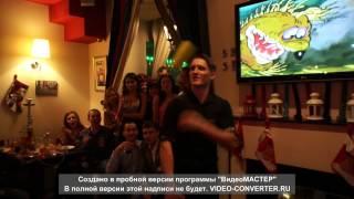 Новогоднее Бармен шоу СПб Чемпион России по флейрингу Виталий Колпин barman-show