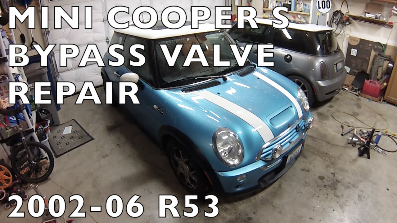 MINI Cooper S R53 Bypass Valve Repair 2002-2006 BPV
