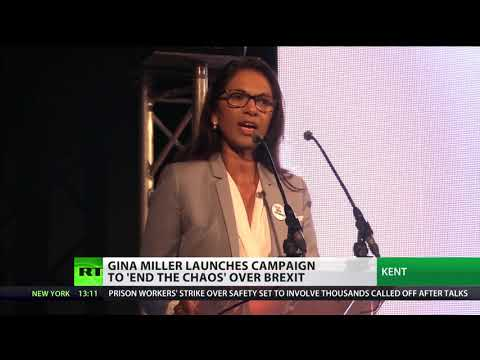 Gina Miller launches campaign to combat 'chaos of Brexit'