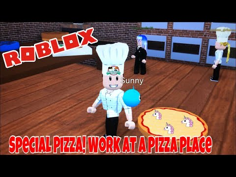 New Special Pizza Work At A Pizza Place Youtube