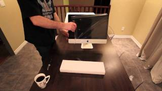 iMac 21.5 Core i3 Unboxing & Overview + Macro Close Ups!