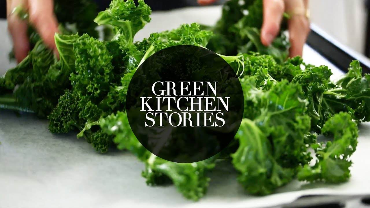 Kale Chips  Green Kitchen Stories  YouTube