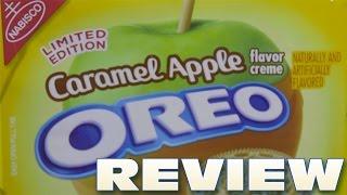 Caramel Apple Oreo Cookie Review - Oreo Oration