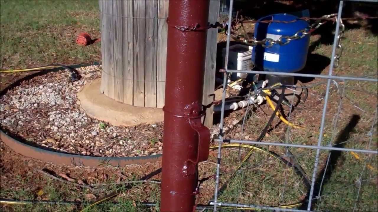 How To Paint A Pipe Fence~Rust Conversion - YouTube