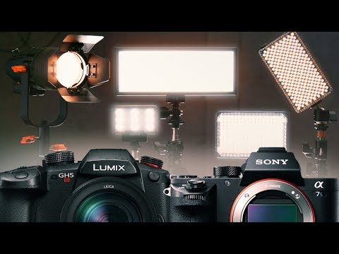 5 Small LED Lights for Low Light Cameras