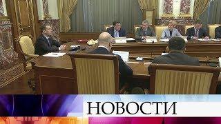 О ходе подготовки к проведению весенних полевых работ говорили на заседании правительства.