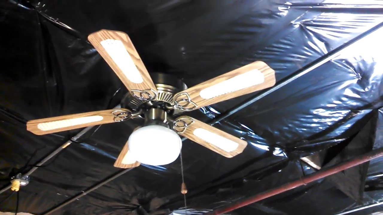 Design House Hugger Ceiling Fan TESTED AT THE METALPAD
