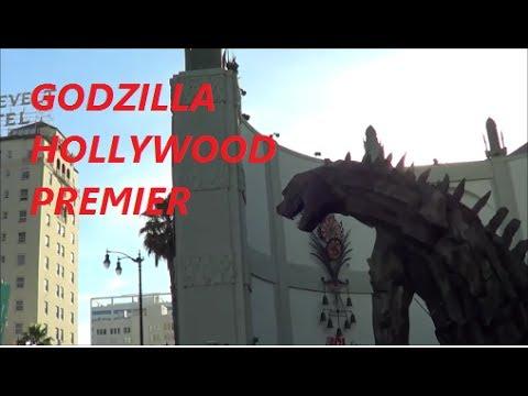 GODZILLA 2014 PREMIER HOLLYWOOD