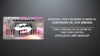 Turn It Around vs. Do Or Die vs. Take Over Control (Afrojack UMF Mashup) [100 SUBS]
