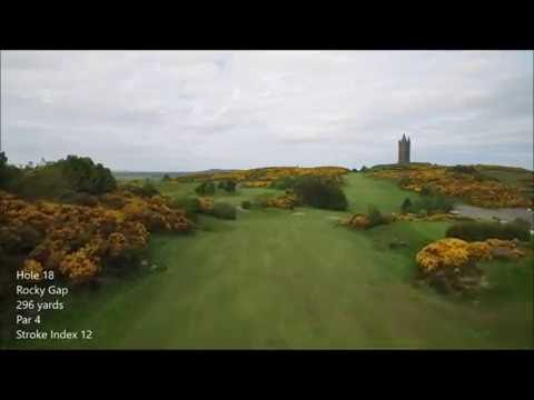 Scrabo Golf Course hole 18