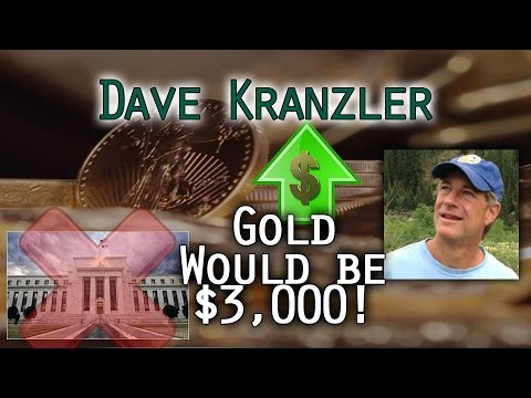 Gold would be 2 or $3,000 without Central Bank Intervention - Dave Kranzler Interview