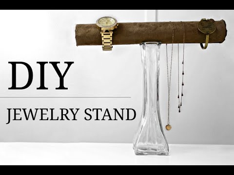 DIY JEWELRY STAND (UNDER $10) || Kaitlyn Coskun