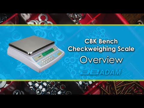 CBK Checkweighing Scale Overview