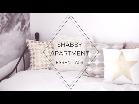 Shabby & Dark Apartment / Room Essentials