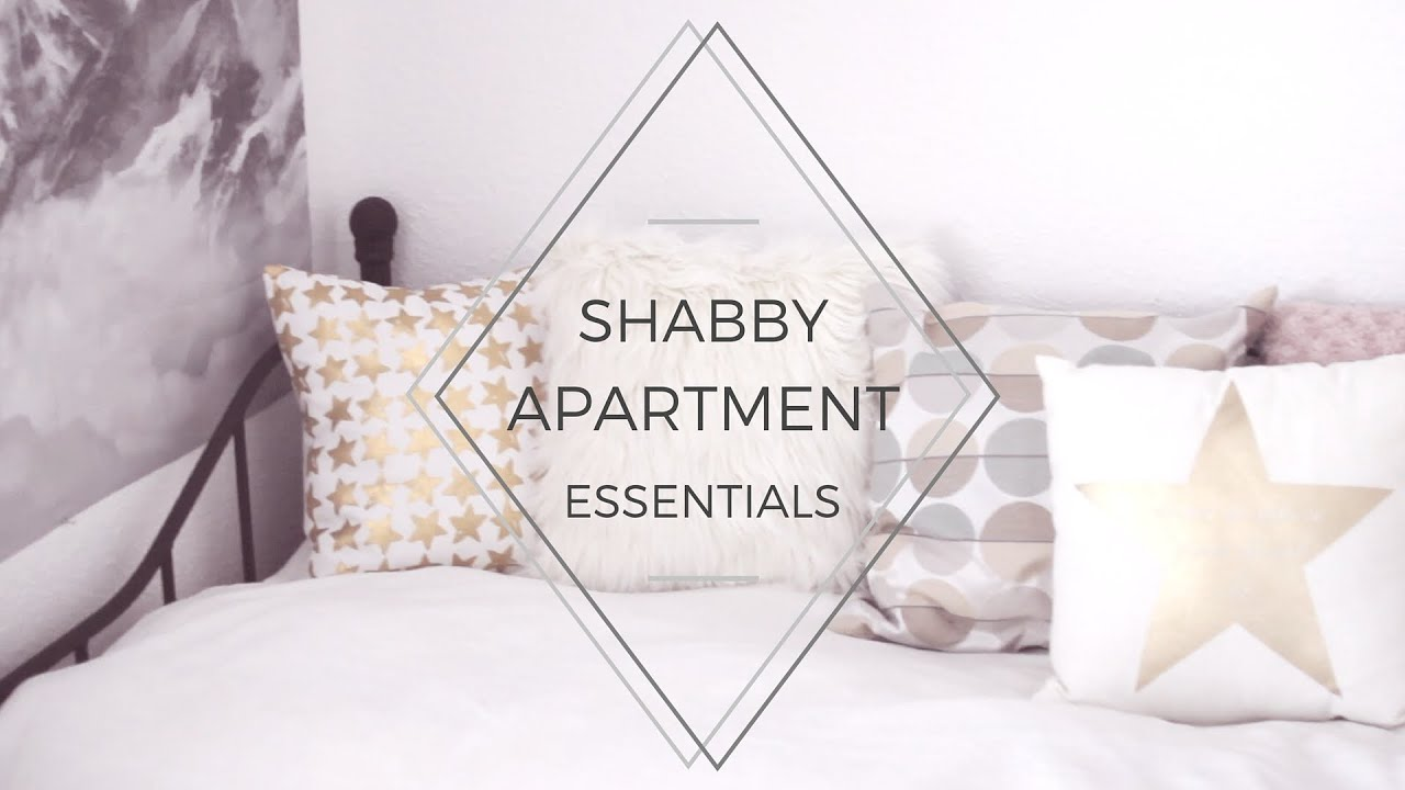 Apartment Room Essentials shabby & dark apartment / room essentials - youtube