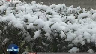 La neige s'installe en Indre-et-Loire