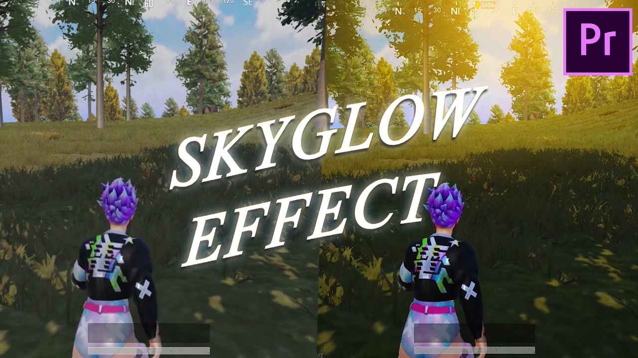 Sky Glow Effect Yapımı    | How to add Sky Glow    |   Premiere Pro