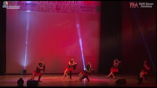 Salsa Dance Performance by Delhi Dance Academy in Avajarred 4