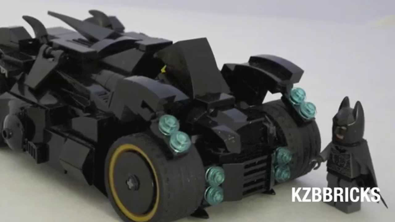 lego batman arkham knight batmobile moc custom set. Black Bedroom Furniture Sets. Home Design Ideas