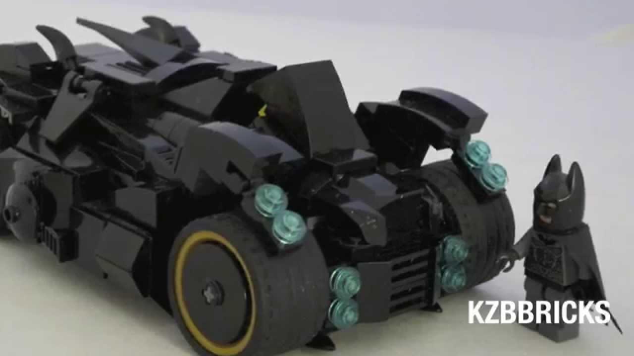 lego batman arkham knight batmobile moc custom set. Black Bedroom Furniture Sets. Home Design Ideas
