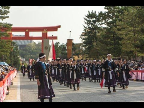 Meiji Restoration Period: Jidai Matsuri, 2015 Kyoto.