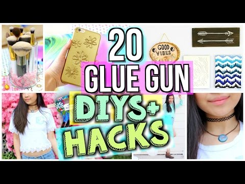 Thumbnail: 20 Ways to Use a Glue Gun! DIYs and Life Hacks | JENerationDIY