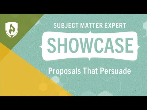 How To Write A Business Proposal [SME Showcase]