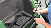 Golf cart king ezgo txt rear flip back seat kit installation video 1141 sciox Images