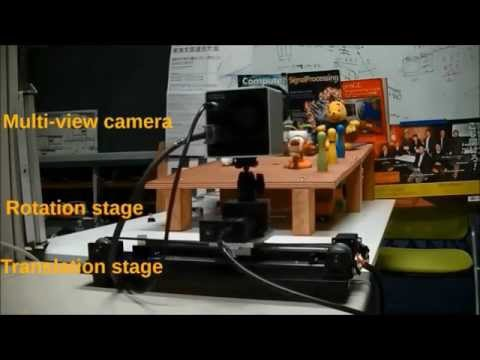 Free-viewpoint video synthesis from a movable camera array