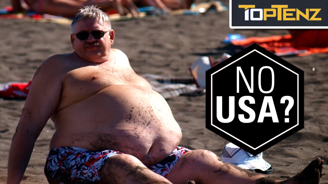 top 5 most obese countries