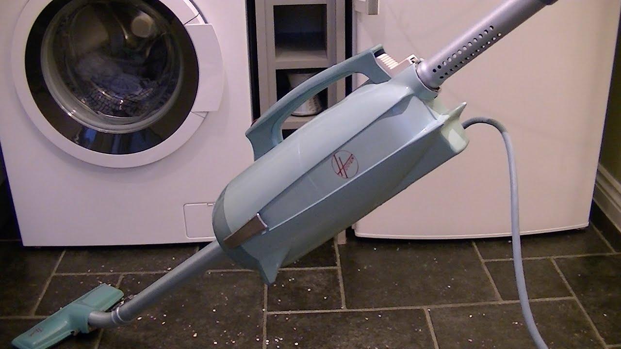 Vintage Hooverette Stick Vacuum Cleaner Demonstration  U0026 Review
