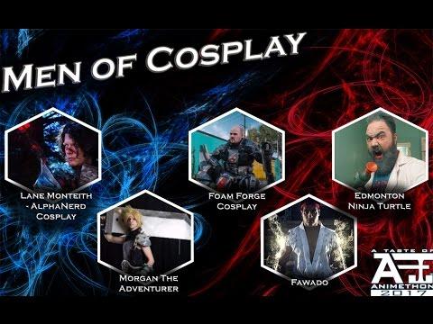A Taste of Animethon 2017 - Men of Cosplay Panel