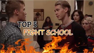 Top 5 school fight scenes in movies #1