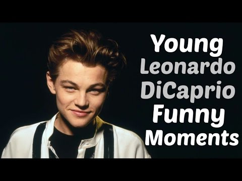 Young Leonardo DiCaprio Funny Moments