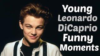 Young Leonardo DiCaprio Funny Moments