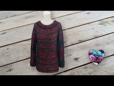 Pull Diva Crochet Facile Lidia Crochet Tricot