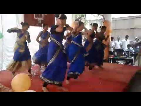Putta Mida Pala Pitta Dance Performance By LJ Kabita High School 10th Girls