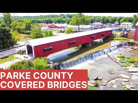 Parke County Covered Bridges | Exploring Indiana | Full-time RV