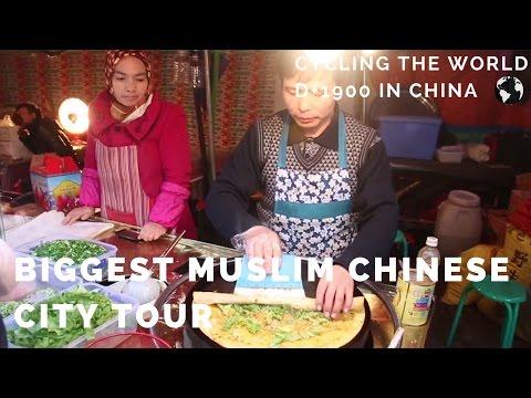 Bigggest Muslim Chinese city tour in China (Urumqi) with hostel friends (EN CC)