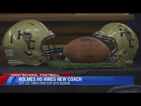 Jeff Lee is introduced as Holmes County High School Head Football Coach