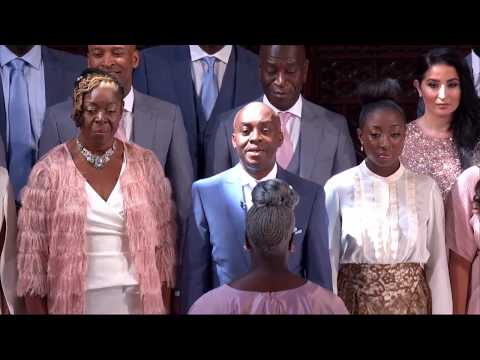 Stand  me performed  Karen Gibson and The Kingdom Choir The Royal Wedding
