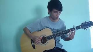Chiếc ô ngăn đôi   guitar solo Mai Van Huy