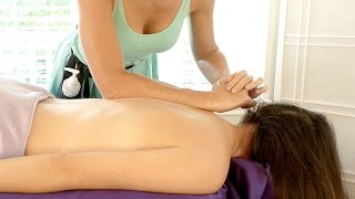 Learn Massage For Head Ache Pain Relief and Relaxation. Head, Back & Neck Massage