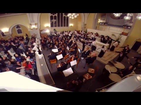 FRA/CGN Milal - Messiah - Hallelujah Chorus, Sing-along, Encore - Chor der Engel  (2016 NYPC)